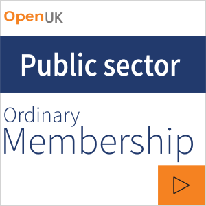 Application for Corporate membership - Public sector / academic